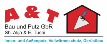 A & T Bau und Putz Logo